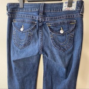 True Religion Straight Leg Sz 32 Denim Jeans